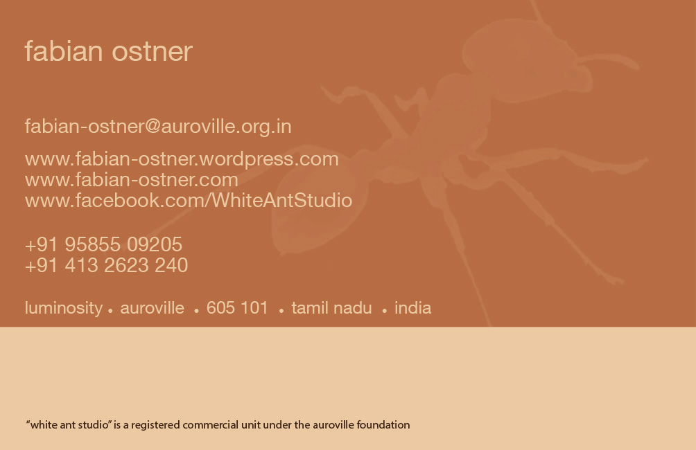 Visiting card WAS Back New Address CS4