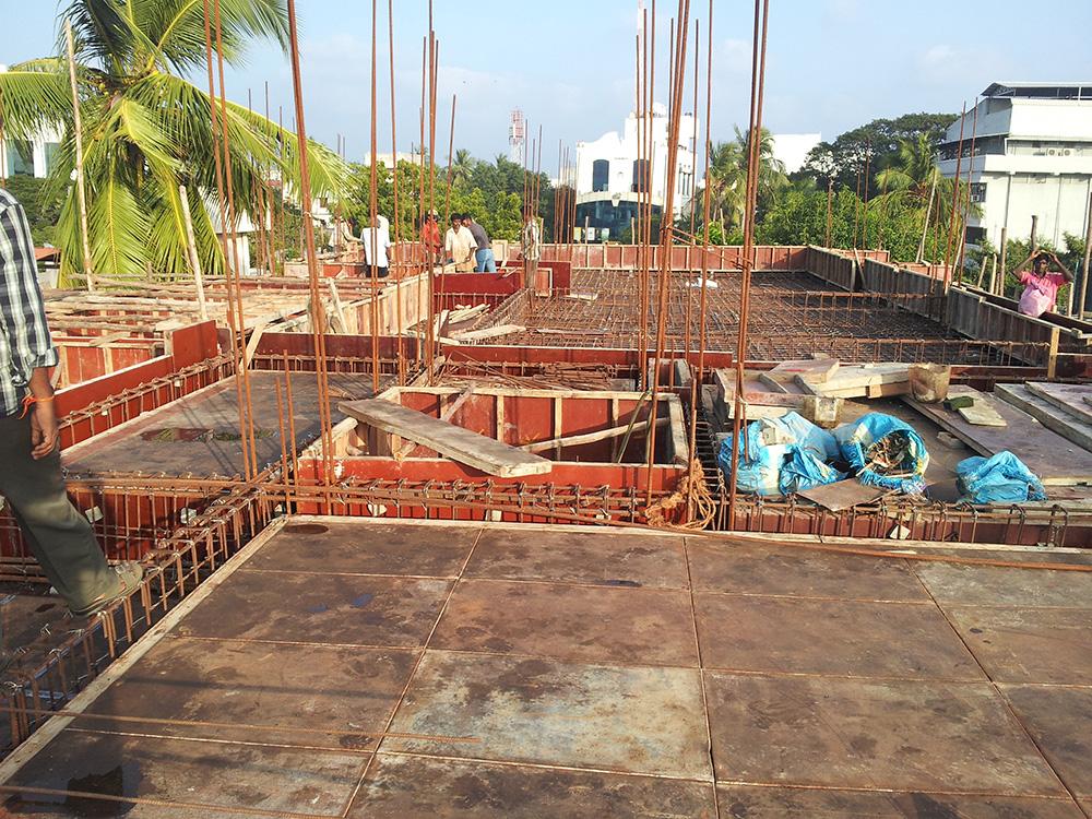 House In Poe S Garden Chennai Construction Photos And