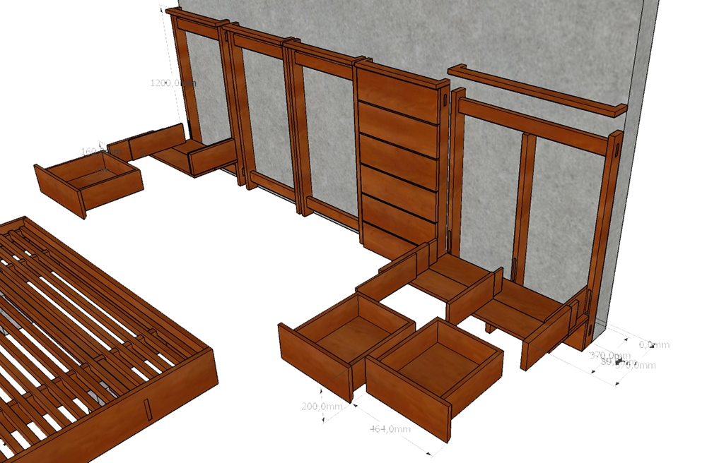 Kaya bed for WP 13